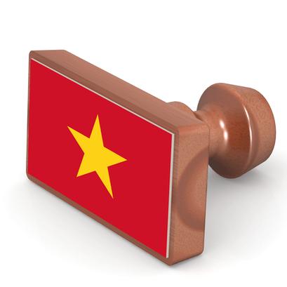 Vietnam Attestation Stamp